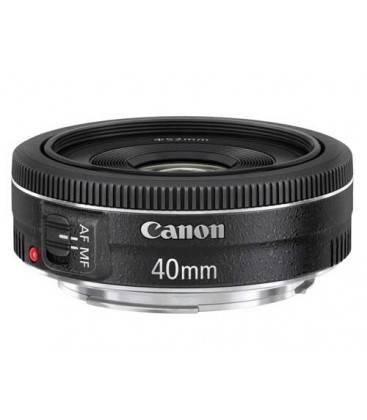 CANON EF 40mm f/2,8 STM + 1 ANNO GRATUITO SERPLUS CANON VIP MAINTENANCE SERPLUS CANON