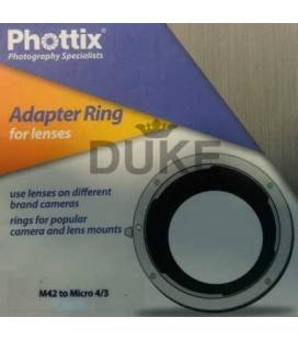 PHOTTIX ADAPTADOR M42 A MICRO 4/3