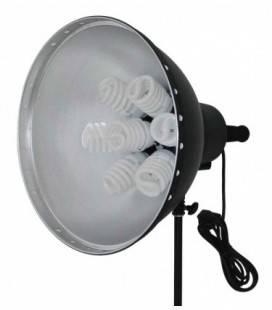 CHROMALIT TAGESLICHT 7 LAMPEN 28 W.+ DIFFUSOR. 3 LEISTUNGEN