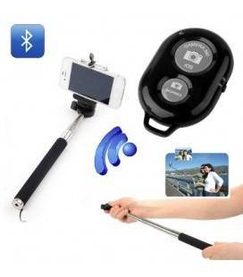 SELFIE MONOPOD KIT AND BLUETOOTH TRIGGER BLACK