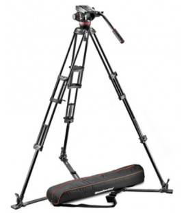 MANFROTTO TRIPODE PROFESSIONAL 546GB+ROTULA MVH502A