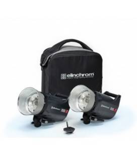 ELINCHROM SET 2 COMPACT FLASH ELC PRO HD 1000/1000