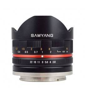 SAMYANG 8MM F/2.8 FISHEYE (FUJI)