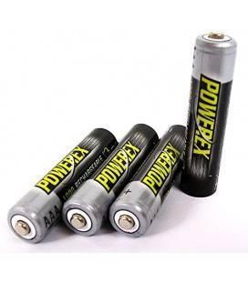 POWEREX MHRAAA4-1000 - PACK 4 piles NiMH AAA 1,2v 1000mAh