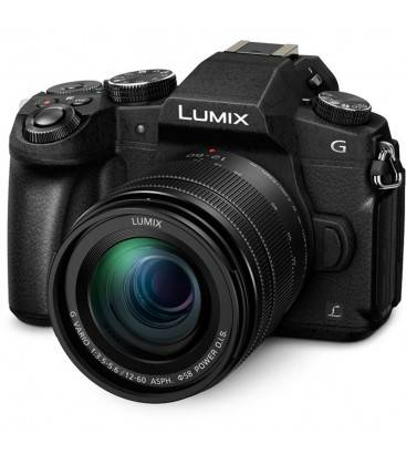 PANASONIC LUMIX DMC-G80M AVEC 12-60MM  f/3.5-5.6 ASPH. POWER O.I.S. + 100 EUROS DIRECT CASHBACK
