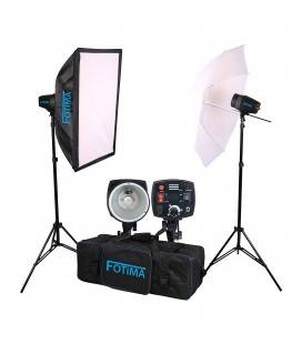 FOTIMA KIT FLASH DE ESTUDIO FTF-160