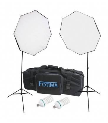 FOTIMA KIT FLASH DE ESTUDIO FTF-150