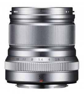 FUJIFILM OBJETIVO XF 50mm f/2 R WR PLATA + €250 DESCUENTO AL COMPRAR JUNTO CON LA X-T30