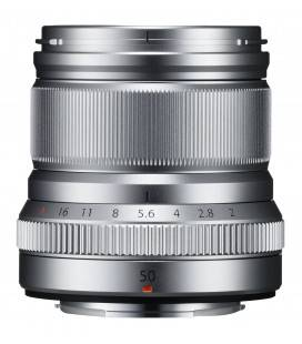 FUJIFILM OBJETIVO XF 50mm f/2 R WR PLATA + €50 DESCUENTO DIRECTO