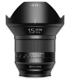 IRIX OBJECTIF BIG ANGULAIRE  15mm f/2.4  BLACKSTONE  POUR CANON
