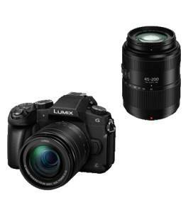 PANASONIC DMC G80 + 12-60 + 45-200 4K WIFI (DOBLE KIT)