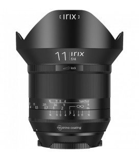 IRIX BLACKSTONE 11MM F/4 GRAND ANGLE POUR NIKON