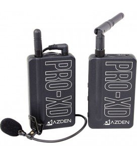 2,4 GHz AZDEN PRO-XD INAMLAMBRICO MICROPHONE MICROPHONE LAVALIER SYSTEM