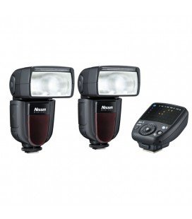 NISSIN KIT 2 DI700A OL YMPUS/PANASONIC 2FLASHES + TRANSMITTER AIR 1
