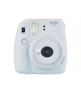 FUJIFILM  INSTAX MINI 9 + 10 PHOTOS + ORIGINAL COVER -WHITE