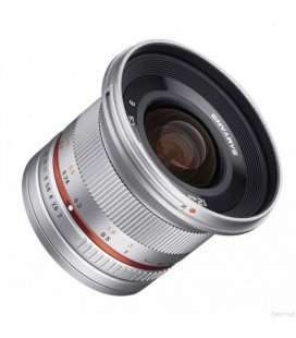 SAMYANG 12mm f/2.0 NCS CS - SONY PLATEADO
