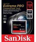 SANDISK CF 128GB 160 MB/s EXTREME PRO UDMA7