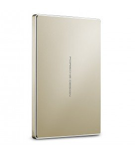 LACIE HARD DISK TYPE C USB 3.0 2 TB - PORSCHE DESIGN GOLD