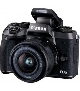 CANON EOS M5 + EF-M 15-45 MM f / 3.5-6.3 IS STM + FREE 1 an VIP MAINTENANCE SERPLUS CANON