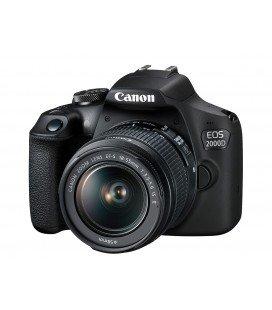 CANON EOS 2000D + 18-55MM F3.5-5.6 IS II KIT + REGALO WONDERBOX AVENTURA + 1 AÑO MANTENIMIENTO VIP SERPLUS CANON