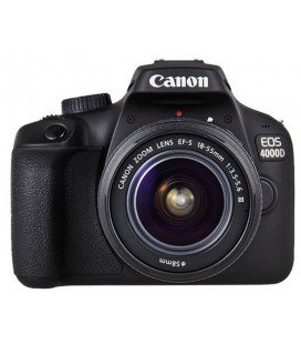 CANON EOS 4000D + 18-55MM DC III KIT + FREE 1 YEAR MAINTENANCE VIP SERPLUS CANON