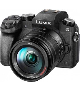 PANASONIC LUMIX DMC-G80H CON 14-140MM f/3.5-5.6 ASPH. POWER O.I.S.