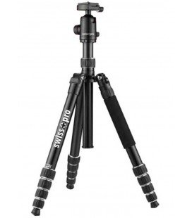 SWISS+GO PRO ELITE VIP 85-TRIPOD 5 SECTIONS-ALUMINIUM