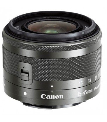 CANON EF-M 15-45mm f/3.5-6.3 IS STM + GRATIS 1 AÑO MANTENIMIENTO VIP SERPLUS CANON