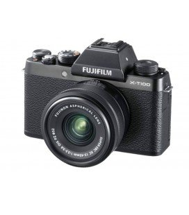 FUJIFILM X-T100 + 15-45MM SCHWARZ + 100 EUROS DIRECT DISCOUNT