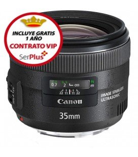 CANON EF 35MM F2 IS USM + GRATIS 1 AÑO MANTENIMIENTO VIP SERPLUS CANON