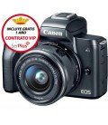 CANON EOS M50 +15-45MM IS STM + GRATIS CURSO + 1 AÑO MANTENIMIENTO VIP SERPLUS