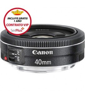 CANON EF 40mm f/2.8 STM + GRATIS 1 AÑO MANTENIMIENTO VIP SERPLUS CANON