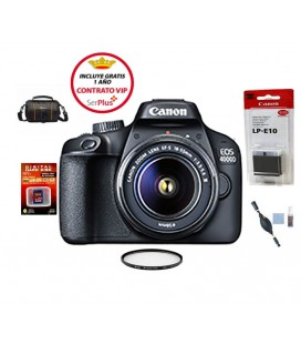 CANON EOS 4000D PACK BASICO