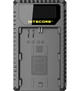 NITECORE UNC1 CARICABATTERIE CANON LP-E6/6N/LP-E8 DUAL (2 BATTERIE 1 USB)