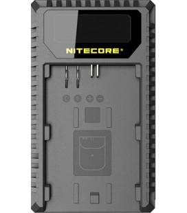 NITECORE UNC1 CHARGER CANON LP-E6/6N/LP-E8 DUAL (2 BATTERIES 1 USB)