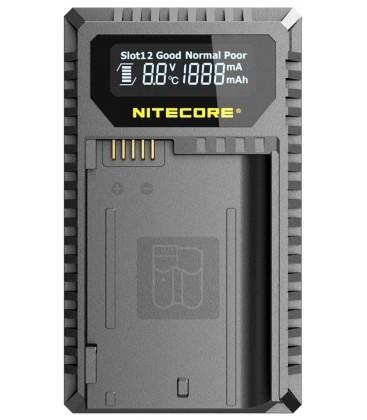 NITECORE UNK2 CARGADOR NIKON EN-EL15 DUAL(2BATERIAS 1 USB)