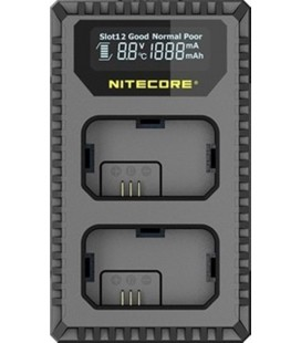 NITECORE USN1 LADEGERÄT SONY NP-FW50 DUAL (2 BATTERIEN 1 USB)