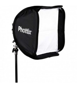 PHOTTIX SOFTBOX 40X40 CON KIT SOPORTE