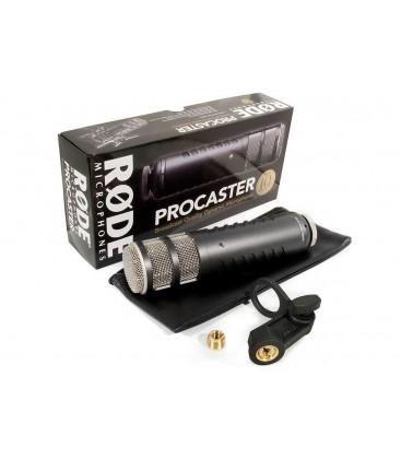 RODE PROCASTER MICROFONO DINANICO P/RADIODIFUSION