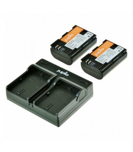 JUPIO DUAL CHARGER + 2 LP-E6N KIT REF. CCA1004
