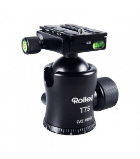 ROLLEI PATELLA T7S BALL BLACK ALUMINUM BUBBLE LEVEL