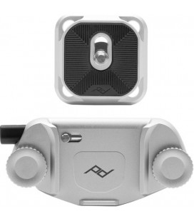 PEAK DESIGN CAPTURE CLIP V3 CON ZAPATA PLATA