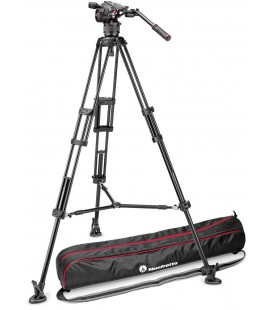 MANFROTTO TRIPODE KIT DE VIDEO 546B + ROTULA N8 NITROTECH