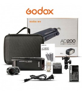 GODOX AD200 200Ws 2.4G TTL HSS FLASH ESTUDIO