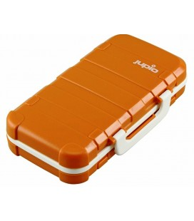 JUPIO CASE FOR BATTERIES AND MEMORY CARDS.