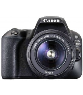 CANON EOS 200D BLACK + 18-55 IS STM + FREE 1 YEAR MAINTENANCE VIP SERPLUS CANON