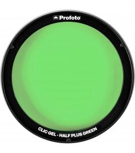 PROFOTO CLIC GEL HALF PLUS GREEN REF 101020