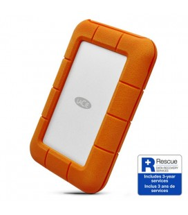 LACIE RUGGED SECURE 2TB DISCO DURO TIPO C