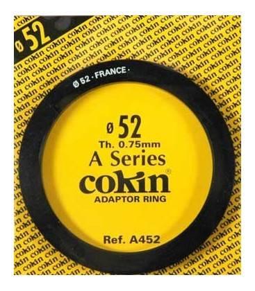 COKIN ANILLA ADAPTADOR SERIE A DE 52 MM.