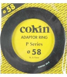 COKIN 58MM P SERIES ADAPTER RING.